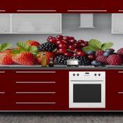 Owoce na fototapetach – doskonałe rozwiązanie do kuchni