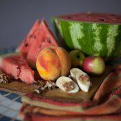 Tapety z owocowym motywem idealnym rozwiązaniem do kuchni.
